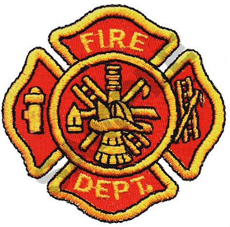 design a fire department logo occupational embroidery design fire department logo from