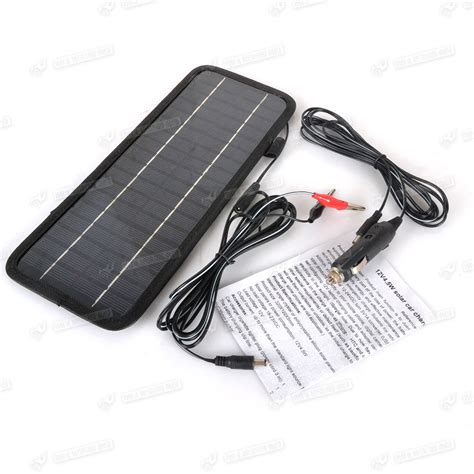 boat battery losing charge smart 12v 4 5w solar panel battery power backup charger