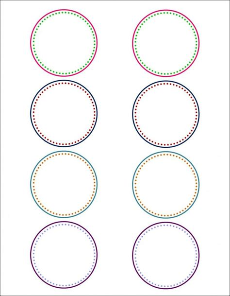 template for circle labels best 25 labels ideas on free printable labels templates printable labels and