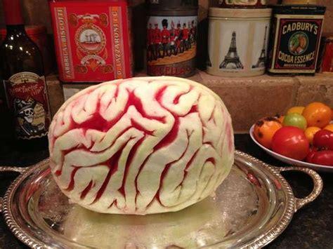 giant cerebral fruit desserts watermelon brain