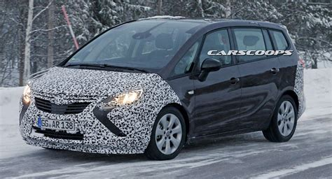 Opel Onstar After 2020 by Facelifted 2017 Opel Vauxhall Zafira Tourer Spotted Again