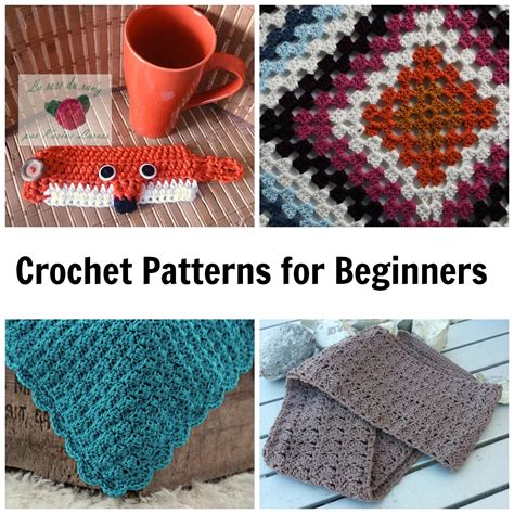 7 not boring crochet patterns for beginners