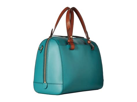 Teal Green Fossil fossil satchel teal green zappos free shipping both ways