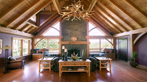 timber frame home interior pictures