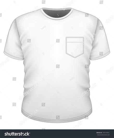 vector men s t shirt design template front view t