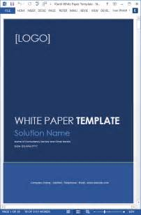 White Paper Template by White Papers Ms Word Templates Free Tutorials