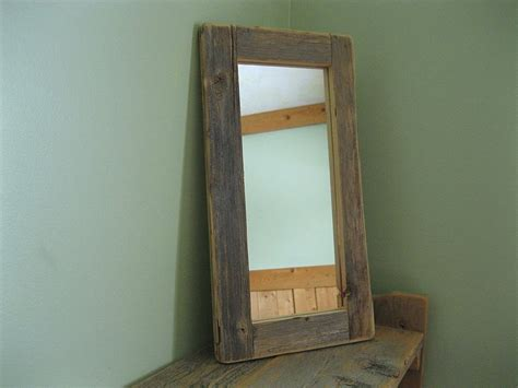 reclaimed wood mirror reclaimed wood mirror frame