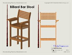 wood working bar stool plans  easy diy woodworking