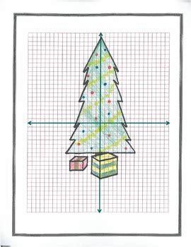 plotting coordinates christmas tree by ds2 teachers