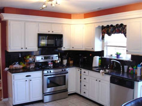 Stained Kitchen Cabinets Before And After South Jersey Cabinet Refinishing Carm Interiors