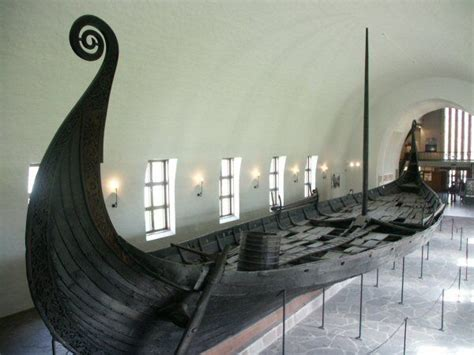 viking longboat table viking longboat oslo souvenir instants de