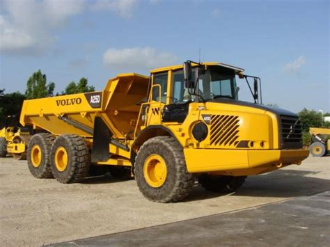 volvo 25 ton dump truck a25d for sale used second