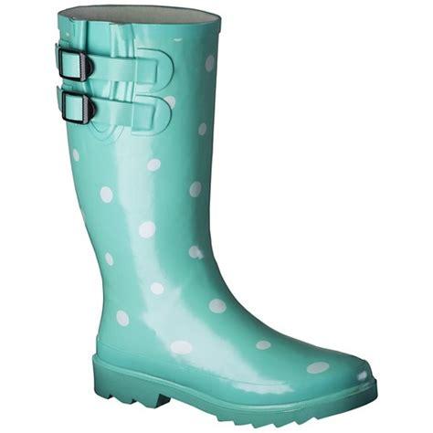 rubber boots target women s novel dot rain boots target
