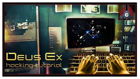 tutorial hack ex deus ex mankind divided hacking tutorial youtube