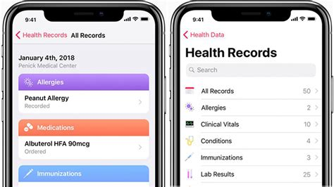 Personal Health Record App Apple To Launch Health Records App With Hl7 S Fhir