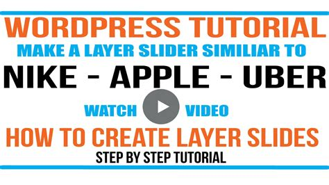 wordpress tutorial to create a website wordpress tutorial make your wordpress website look
