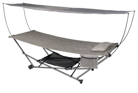 ez swing chair patio bliss stow ez portable hammock and 4 pt stand w