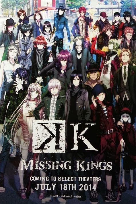 K Anime by K Missing Anime Review Reactor