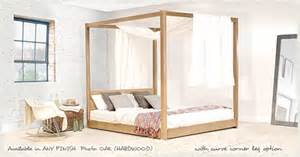 4 Poster Bed Frames Low Four Poster Bed