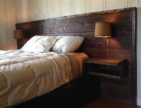 wall headboards bedroom with reclaimed wood headboard wall l