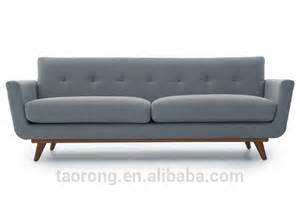 Luxury Classic Sofa Modern Grey Fabric Buttoned Luxury Sofa So 02014 15