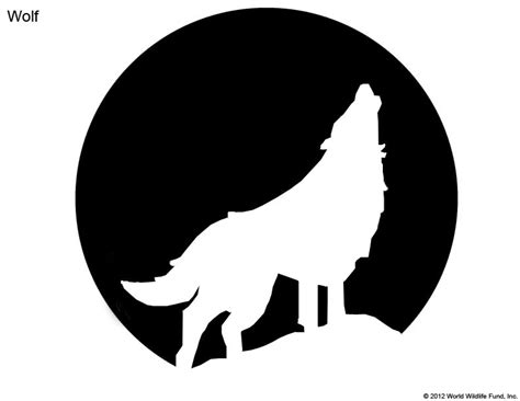 wolf pumpkin template pumpkin carving patterns from wwf free stencil downloads