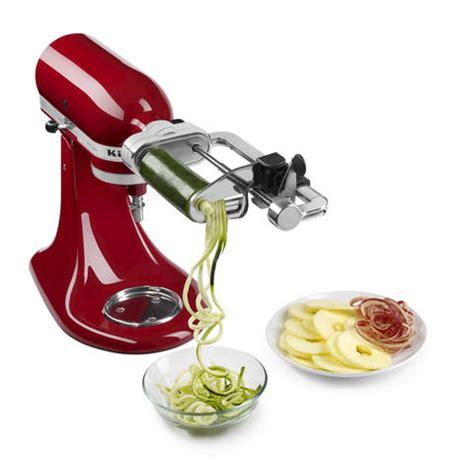 Kitchenaid Spiralizer Blade Kitchenaid 174 Spiralizer Attachment With Peel And