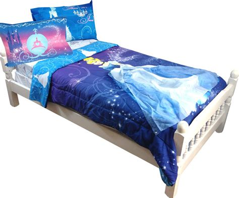 Disney Cinderella Full Comforter Set Night Sparkles Cinderella Bedding Set