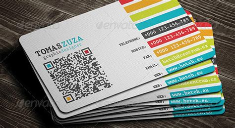 networking business card templates 25 qr code business card templates web graphic design