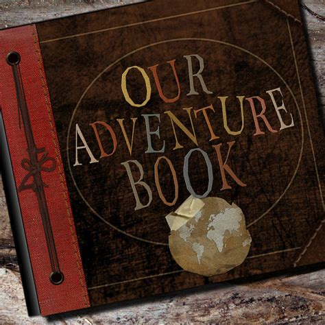 s adventures books our adventure book from disney s up mickey fix