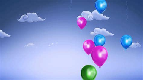 imagenes infantiles full hd fondo video background full hd balloons day youtube