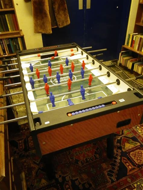 Tiger Transfer Tables by A Jacques Soccer Table Football