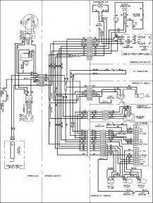 wiring information diagram parts list for model abb2224des amana parts refrigerator parts