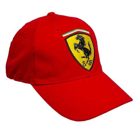 ferrari hat cap 99p start formula one 1 ferrari scudetto f1 team red