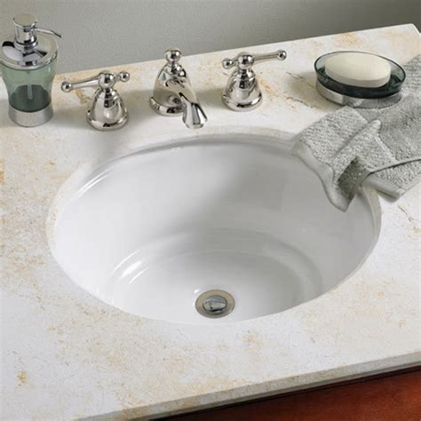 american standard undermount bathroom sinks american standard tudor 0632000 undermount bathroom sink