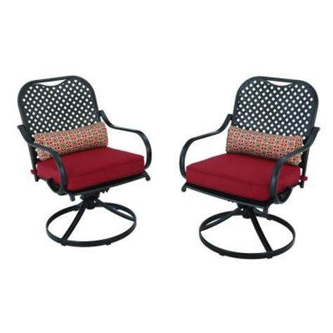 motion patio chairs hton bay fall river motion patio dining chair with