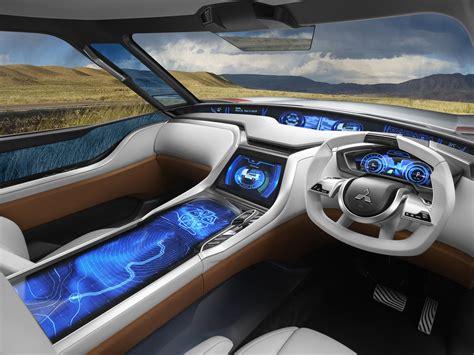 future cars inside 2013 mitsubishi concept gc phev suv interior f wallpaper