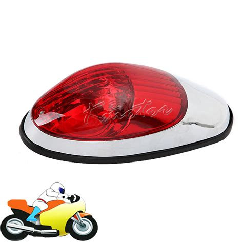broken tail light cover illegal 12v motorcycle tail brake lights red lens moto auxiliary