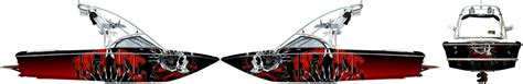 supra boats banner boat wrap advertising guru new orleans louisiana vehicle