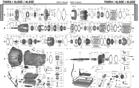 th350 parts diagram valve 4l60e schematic get free image about wiring