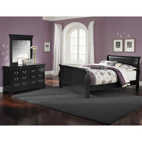 black full bedroom set black bedroom furniture sets black value city furniture
