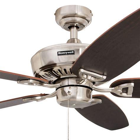 honeywell ceiling fan remote honeywell belmar ceiling fan brushed nickel finish 52