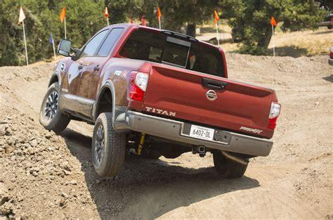 nissan truck titan 2017 2017 nissan titan axle articulation the fast lane truck