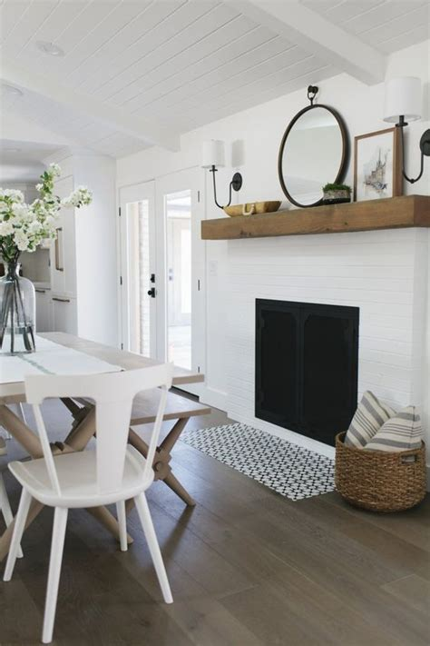 Dining Room Fireplace Tiles Better Homes And Gardens Style Spotters Decorating