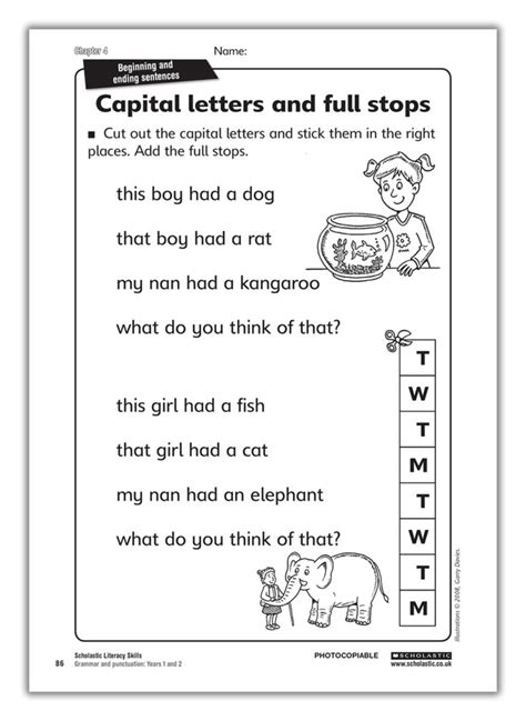 1407140701 grammar and punctuation years search results for year 1 comprehension worksheets
