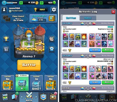 best for 4 arena 4 deck push to 2000 trophies as a f2p player