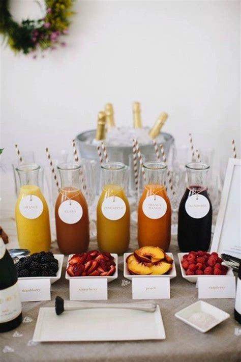 diy mimosa bar celebrate pinterest