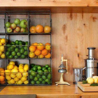 fruit storage kitchen dining hanging fruit baskets