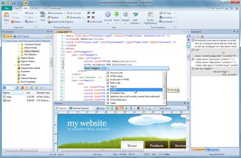 html layout generator software web architect 10 professional html editor software for pc