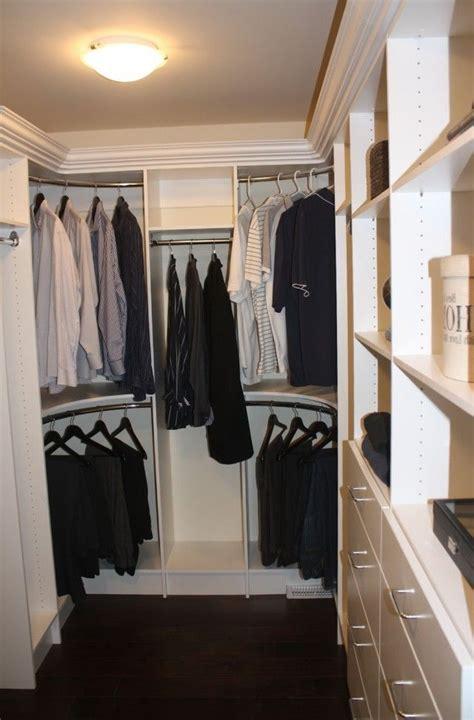 curved closet rods corners master closet closet rod